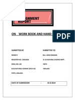 Work Book and Hand Book