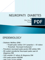 Neuropati Diabetes Dr. Audhy Tanasal SpS