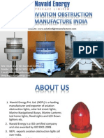 Aviation obstruction Lights manufacturer India call @ 9811673018