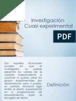 Investigación Cuasi Experimental (1)
