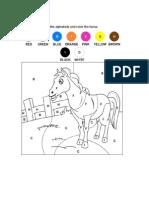 Colour the Horse