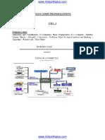 GE6151 C Programming notes