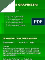 Analisis Grav PowerPoint Presentation