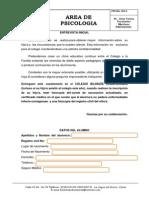 Primera Encuesta Inicial Alumnos Kinderlandia 2014