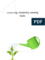 Watering and Carpentry Tool
