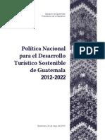 Politica Nacional DTS Guatemala 2012 2022