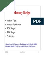Memory Design