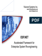 ESF .NET - Accelerated Framework for Enterprise System Re-Engineering