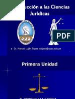 Introducción I UNIDAD El Derecho y La Justicia