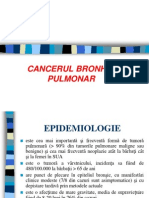 Cancer bronho+pulmonar