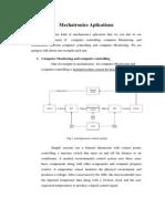 Mechatronics Aplication1