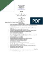 b resume2014
