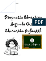 Proyecto Curricular Infantil