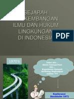 Sejarah Perkembangan Ilmu lingkungan