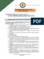 Academia Nationala de Informatii Mihai Viteazul Bucuresti - FINALIZAT