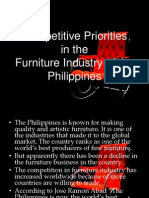 Furniture Industry Reasearch