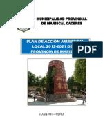 Plan de Accion Ambiental Local - MPMCJ