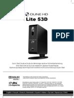 Dune HD Lite 53D Quick Start Guide