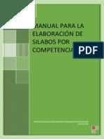 Manual Elaboracion de Silabo 2014 II