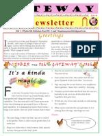 Gateway Newsletter September 2014