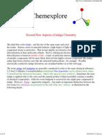Several New Aspects of Indigo Chemistry