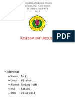 Assessment Urology-retensi Urin Ec Suspect BPH