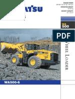 WA500 6 Brochure