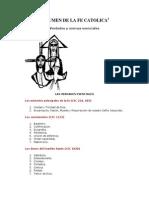 Resumen de La Fe Catolica