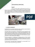 Investigacion de Laboratorio de Manufactura