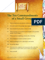 Great Adventure Small Group Ten Commandments
