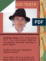 ARMANDO TESTA Presentacion