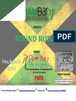 JAM Round Robin Flyer - RBJerk