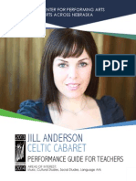 Jill Anderson's Celtic Cabaret Performance Guide