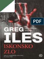 Greg Iles Iskonsko Zlo