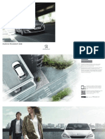 Peugeot 308 brochure (Spanish)
