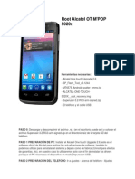 Root Alcatel OT M POP