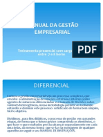 Treinamento - Manual Da Gestão Empresarial