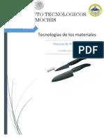 Tecnologias ( Cuchillos Ceramicos)