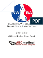 2014-15 NWBA Rules and Case Book