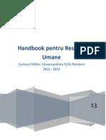 Handbook Resurse Umane - Curteza Catalin