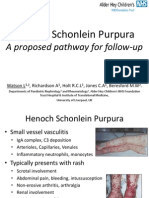 Henoch Schonlein Purpura