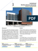 SolarWall Case Study - Northern Arizona University Distance Learning Center (solar air heating system)