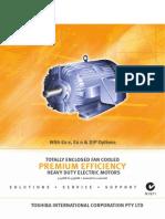 Catalogue Toshiba LVM Premium Efficiency A4 1209
