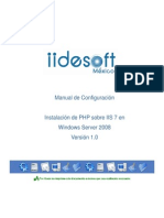 Manual Iis Php