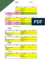 horarios lingüística UCM