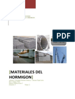 Materiales Del Hormigon Tapia Sanches