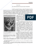 La chitarra nell'arte figurativa del Novecento