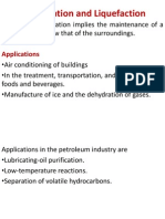Refrigeration and Liquefaction