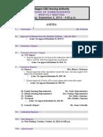 Niagara Falls Housing Authority - Sept. 2, 2014 agenda