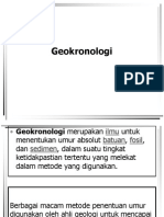 Geokronologi